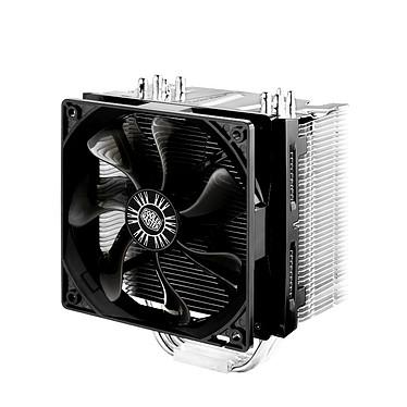 Cooler Master Hyper 412S Ventilateur pour processeur (pour socket Intel 775 / 1150/1151/1155 / 1156 / 1366 / 2011 et AMD AM2 / AMD 2+ / AM3 / FM1)