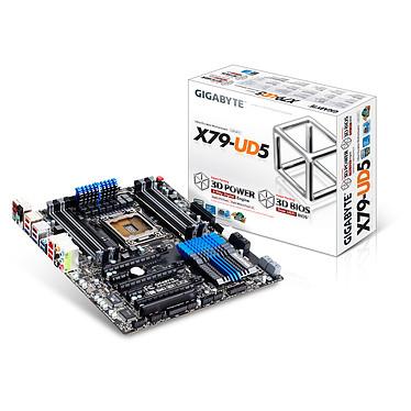 Gigabyte GA-X79-UD5 Carte mère E-ATX Socket 2011 Intel X79 Express - SATA 6Gb/s - USB 3.0 - 3x PCI-Express 3.0 16x