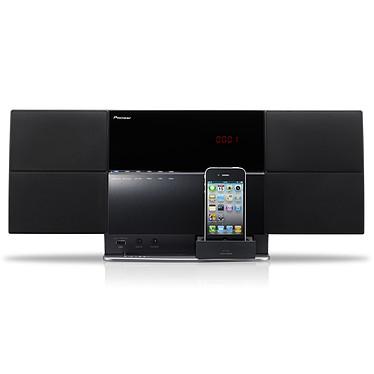 Pioneer X-SMC1-K Noir Station d'accueil amplifiée tout-en-un compatible iPod / iPhone