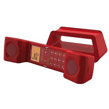 Swissvoice ePure Rouge Téléphone DECT sans fil (version française)