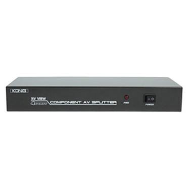 Splitter Audio/Vidéo YUV 4 ports
