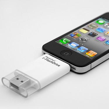 PhotoFast i-FlashDrive 8 Go Transfert de fichiers entre PC/Mac et iPod/iPhone/iPad