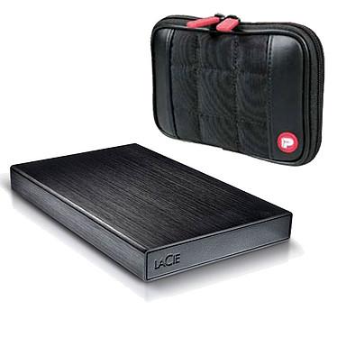 LaCie Rikiki 500 Go (USB 3.0) + Port Designs Berlin OFFERTE ! Disque dur portable ultra compact sur port USB 3.0 (garantie LaCie 2 ans) + housse de transport OFFERTE !