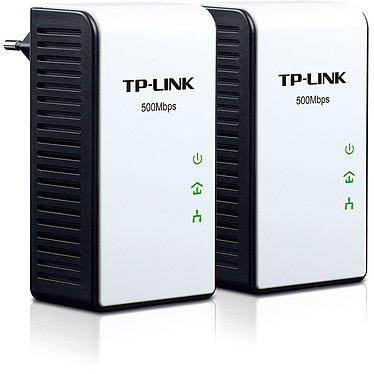 TP-LINK TL-PA511KIT Pack de 2 adaptateurs CPL HomePlug AV 500 Mbps