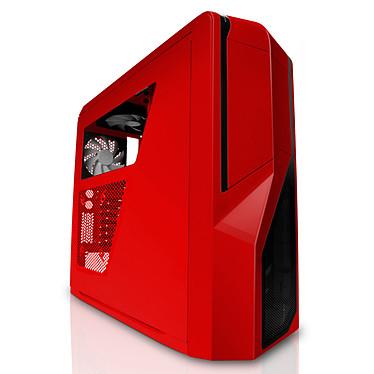 NZXT Phantom 410 (rouge) - Edition USB 3.0 Boîtier Moyen Tour pour gamer avec fenêtre