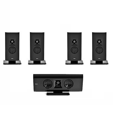Klipsch Pack Gallery G-16 / G-12 Noir Pack d'enceintes ultra compactes 5.0