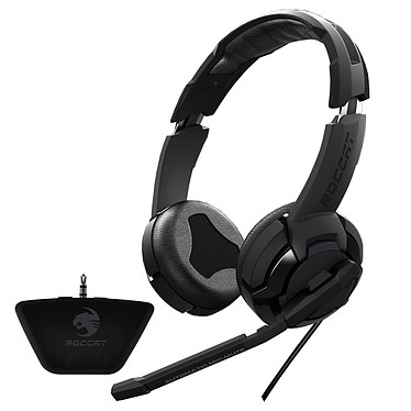 ROCCAT Kulo Stereo + adaptateur Xbox 360 OFFERT ! Casque-micro pour gamer + adaptateur pour console Xbox 360 offert !