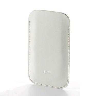 HTC PO-641 Etui Pouch pour Rhyme Etui en cuir blanc pour HTC Rhyme