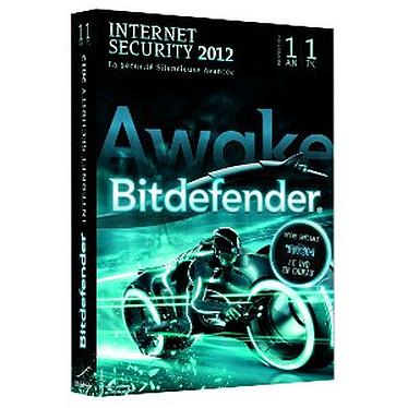 Bitdefender Internet Security 2012 - Licence 1 an 1 poste + Le Dvd Tron 2 Offert Suite de sécurité - Licence 1 an 1 poste (français, WINDOWS)+Le Dvd Tron 2 Offert