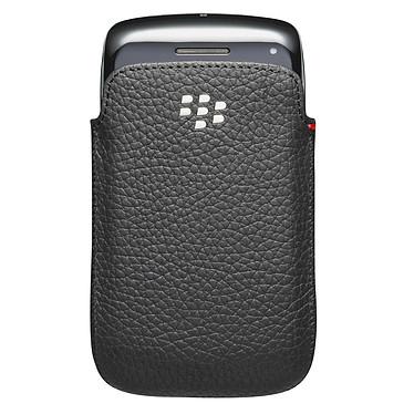 Avis BlackBerry Leather Pocket Noir