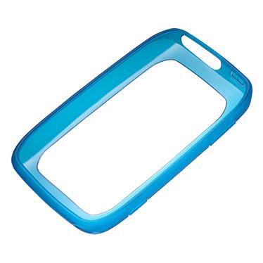 Nokia Soft Cover CC-1046 Bleue Contour pour Nokia Lumia 710