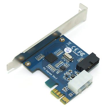 Avis Carte PCI-Express 2.0 x1 avec connecteur interne USB 3.0 (20 broches)