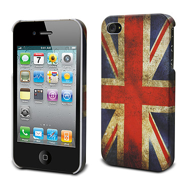 Muvit Coque rigide Royaume-Uni pour iPhone 4 / 4S