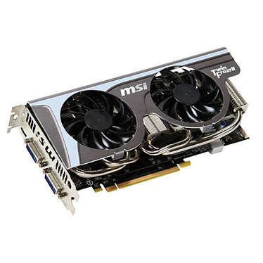 MSI N560GTX Twin Frozr II OC 1024 Mo Dual DVI/Mini HDMI - PCI Express (NVIDIA GeForce avec CUDA GTX 560)