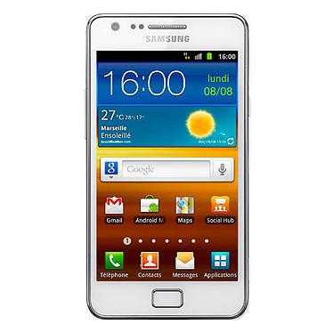 "Samsung Galaxy S2 GT-i9100G Blanc Smartphone 3G+ avec écran tactile 4.27"" Super AMOLED Plus sous Android 2.3"