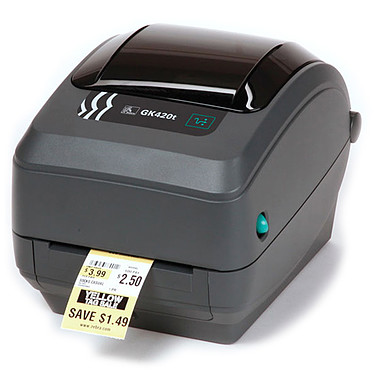 Zebra Technologies GK420t Imprimante thermique à étiquettes (USB/Série/Parallèle)