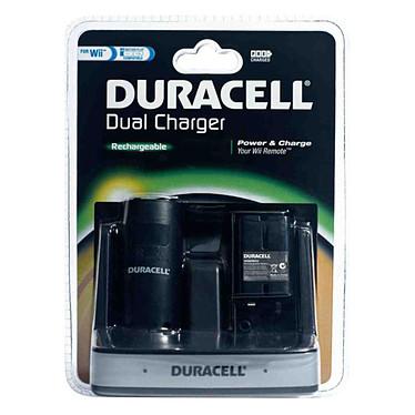 DURACELL Dual Charger (Wii) Station de recharge et batteries pour Wiimote