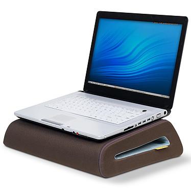 Belkin CushTop Marron/Bleu Support ergonomique pour ordinateur portable