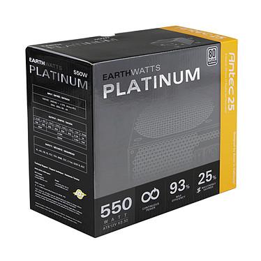 Antec EarthWatts EA-550 Platinum - 80PLUS Platinum pas cher