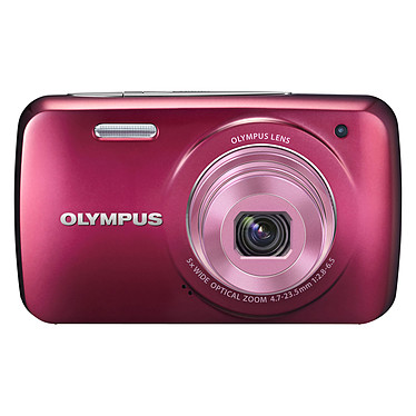 Olympus VH-210 Rouge Appareil photo 14 MP - Zoom grand-angle 5x - Vidéo HD