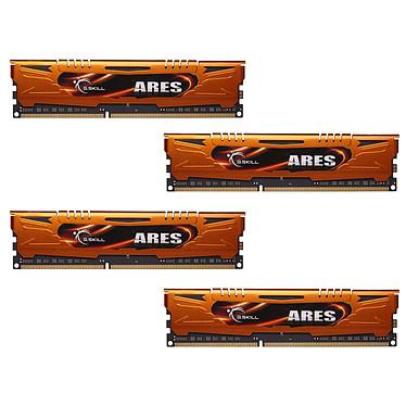 G.Skill Ares Orange Series 16 Go (4 x 4 Go) DDR3 1600 MHz CL9