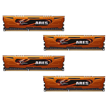 G.Skill Ares Orange Series 16 Go (4 x 4 Go) DDR3 1333 MHz CL9