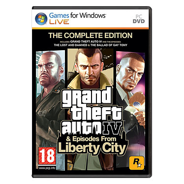 GTA IV - Grand Theft Auto IV - Edition Intégrale (PC)