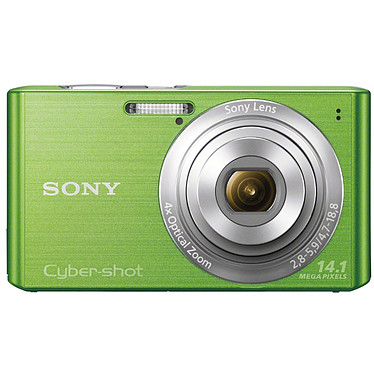 Sony Cyber-shot DSC-W610 Vert Appareil photo 14 MP - Zoom 4x
