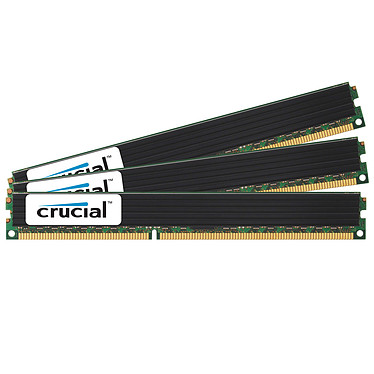 Crucial 12 Go (3 x 4 Go) DDR3 1333 MHz CL9 ECC Registered Low Profile