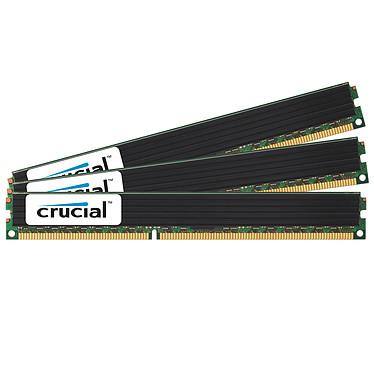 Crucial 48 Go (3 x 16 Go) DDR3 1333 MHz CL9 ECC Registered Low Profile