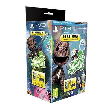 Sony DualShock 3 + Little Big Planet 2 - Platinum (PS3) Manette sans-fil Noire DualShock 3 + Little Big Planet 2