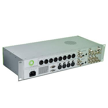 Matrox MXO2 Rack MAX Thunderbolt Unité de capture audio/vidéo avec monitoring Surround 5.1 et 7.1