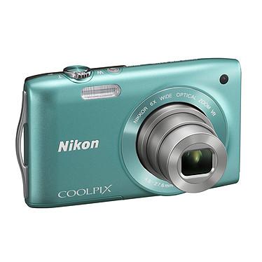Nikon Coolpix S3300 Vert Appareil photo 16 MP - Zoom grand-angle 6x - Vidéo HD