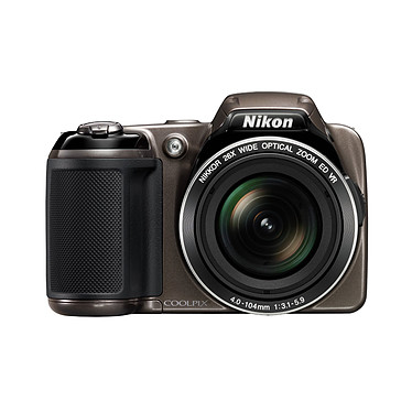 Avis Nikon Coolpix L810 Gris + Case Logic PVL-204 + Nikon SD 4 Go