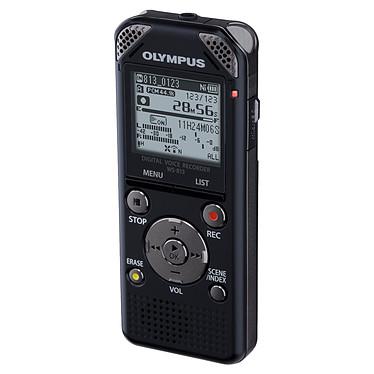Olympus WS-813 Dictaphone numérique et lecteur MP3/FM 8 Go