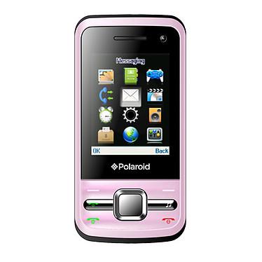 """Polaroid PRO M200 Rose Smartphone 2G avec écran 2"""" et 2 ports pour cartes SIM"""