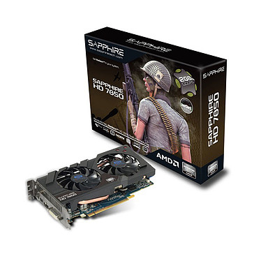 Sapphire Radeon HD 7850 OC Edition 2 Go