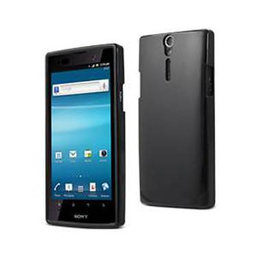Muvit Coque arrière Minigel Glossy pour Sony Xperia S