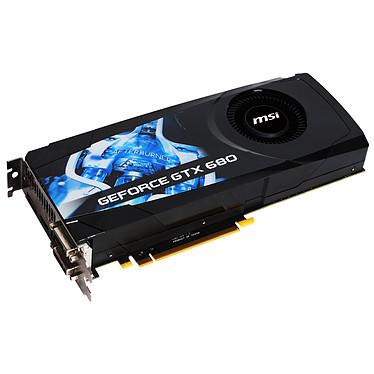 MSI N680GTX-PM2D2GD5 GeForce GTX 680 2 Go