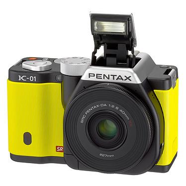 Avis Pentax K-01 Jaune + Objectif 18-55 mm