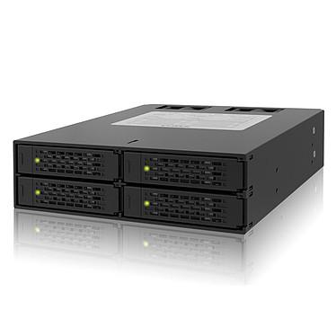 "ICY DOCK MB994SP-4SB-1 Rack pour 4 disques durs 2.5"" Serial ATA dans baie 5.25"""
