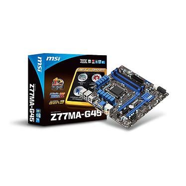 MSI Z77MA-G45 Carte mère ATX Socket 1155 Intel Z77 Express - SATA 6Gb/s - USB 3.0 - 2x PCI-Express 3.0 16x