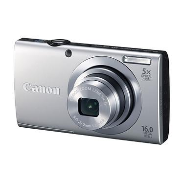 Canon Powershot A2400 IS Argent Appareil photo 16 MP - Zoom 5x - Vidéo HD