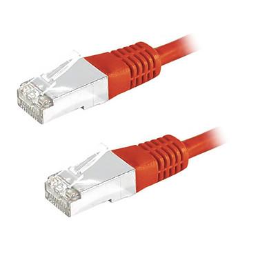 Câble RJ45 catégorie 6 S/FTP 5 m (Rouge)