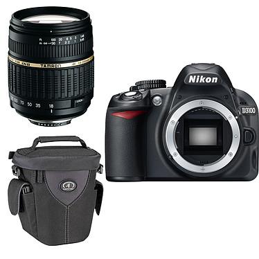 Nikon D3100 + Etui Tamrac Aero Zoom 25 + Objectif Tamron AF 18-200mm