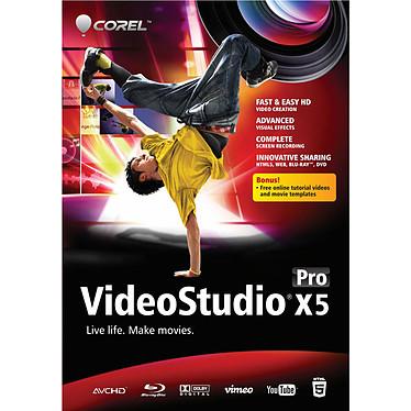 Corel VideoStudio Pro X5 Logiciel d'édition vidéo (français, WINDOWS)