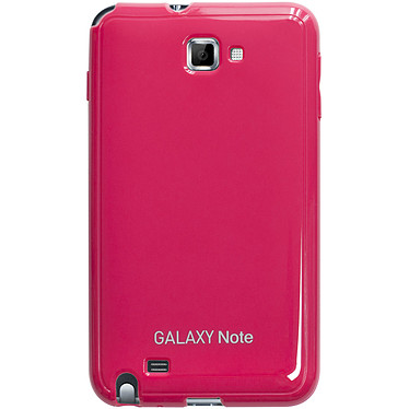 Anymode Made For Samsung Coque Glossy Rose pour Galaxy Note Coque arrière pour Galaxy Note N7000