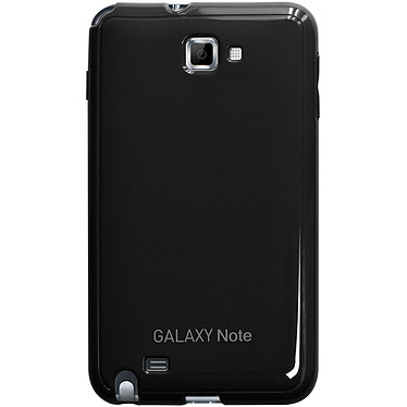Anymode Made For Samsung Coque Glossy Noire pour Galaxy Note Coque arrière pour Galaxy Note N7000