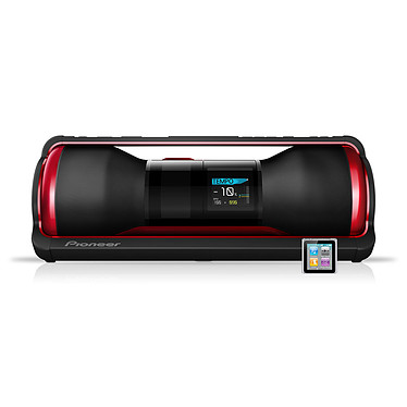 Pioneer STEEZ D10Z + Apple iPod Nano 8 Go Argent