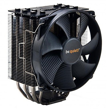 Be Quiet ! Dark Rock 2 Ventilateur de processeur (pour Socket AMD AM2/AM2+/AM3/AM3+/FM1/754/939/940 et INTEL LGA 775/1150/1151/1155/1156/1366/2011) - Garantie constructeur 3 ans